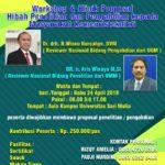 Workshop dan Klinik Proposal Hibah Penelitian dan PKM