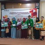 Mahasiswa Farmasi Juara 3 Lomba Produk Mahasiswa Farmasi Indonesia di ALPHA-C UIN Alauddin Makassar